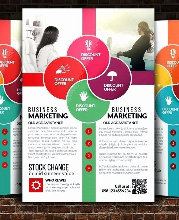 Promotional Flyers Template Free Beautiful Promotional Flyers Template – Baycablingfo