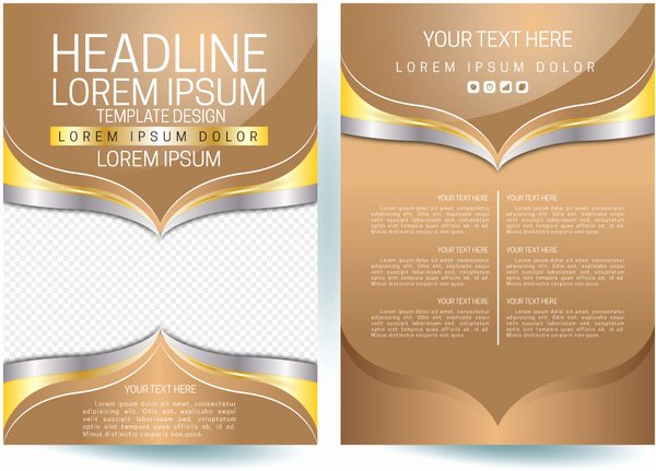 Promotional Flyers Template Free Fresh Promotion Flyer Template Free Vector 14 734 Free