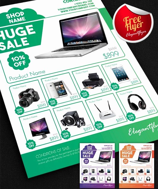 Promotional Flyers Template Free Luxury Marketing Flyer Templates Free Yourweek Eca25e