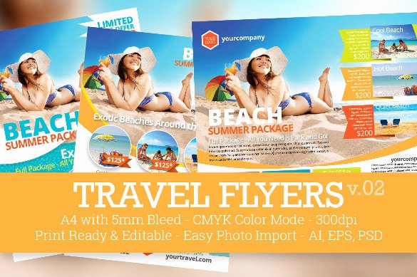 Promotional Flyers Template Free Unique A4 Flyers – 40 Free Psd Ai Vector Eps format Download
