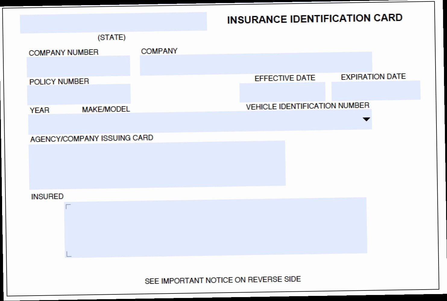 Proof Of Car Insurance Template Awesome Printable Proof Insurance How I Successfuly organized
