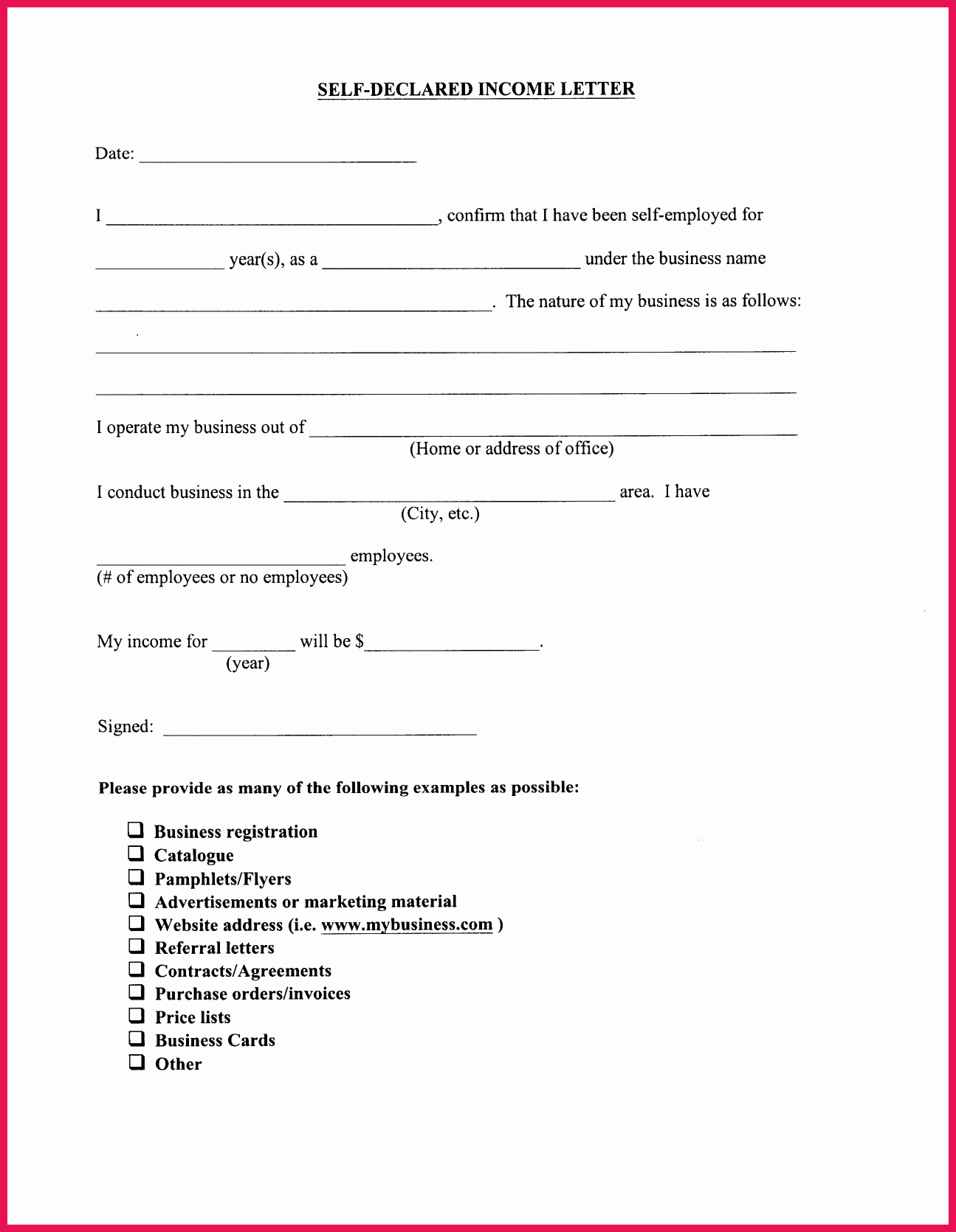 Proof Of Income Template Lovely Proof Of In E Letter Sample