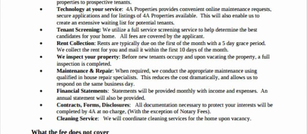 Property Management Proposal Template Beautiful Property Management Proposal Template Sarahepps