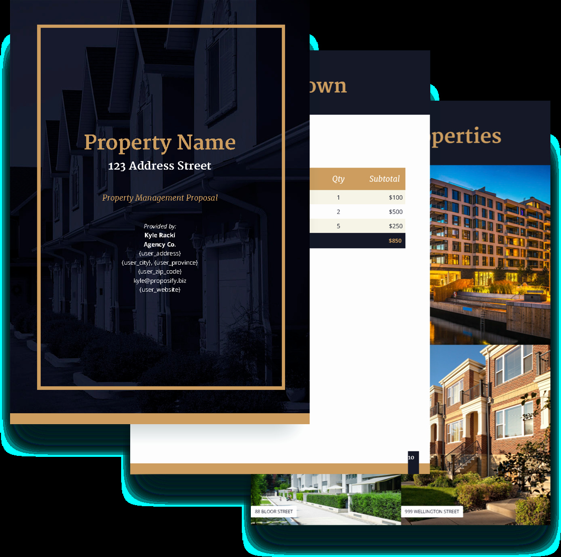 Property Management Proposal Template Elegant Property Management Proposal Template Free Sample
