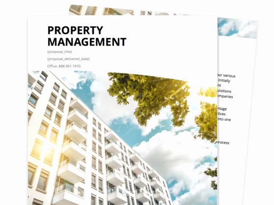 Property Management Proposal Template Fresh Find Your Proposal Template