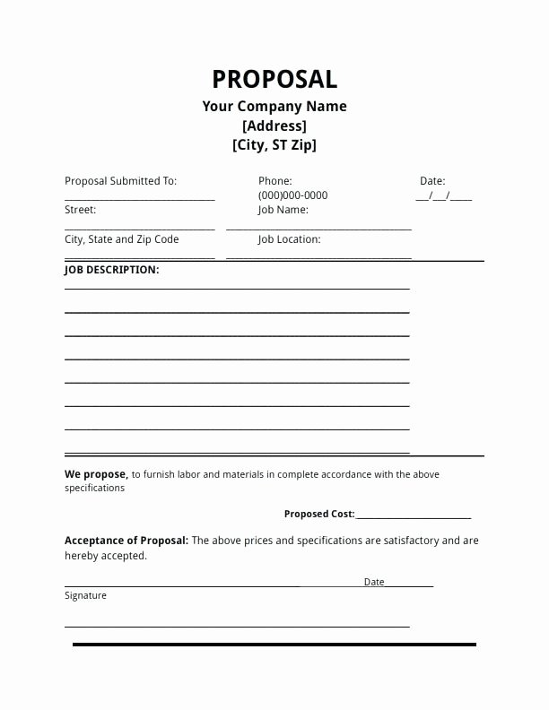 Property Management Proposal Template Inspirational 8 Investment Proposal Template Excel Residential Property