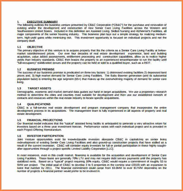 Property Management Proposal Template Unique 3 Real Estate Business Proposal Template