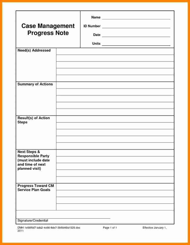 Psychotherapy Progress Notes Template Elegant 6 Psychotherapy Progress Note Template