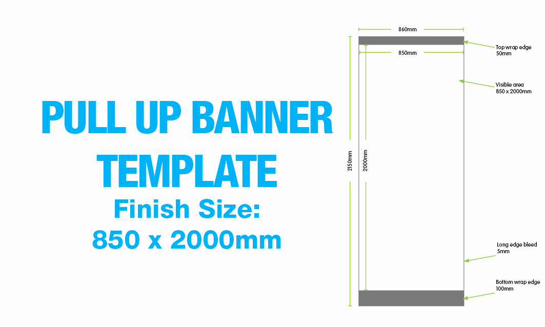 Pull Up Banner Template Beautiful 5 Best Of Pull Up Banner Sizes Pull Up Banner