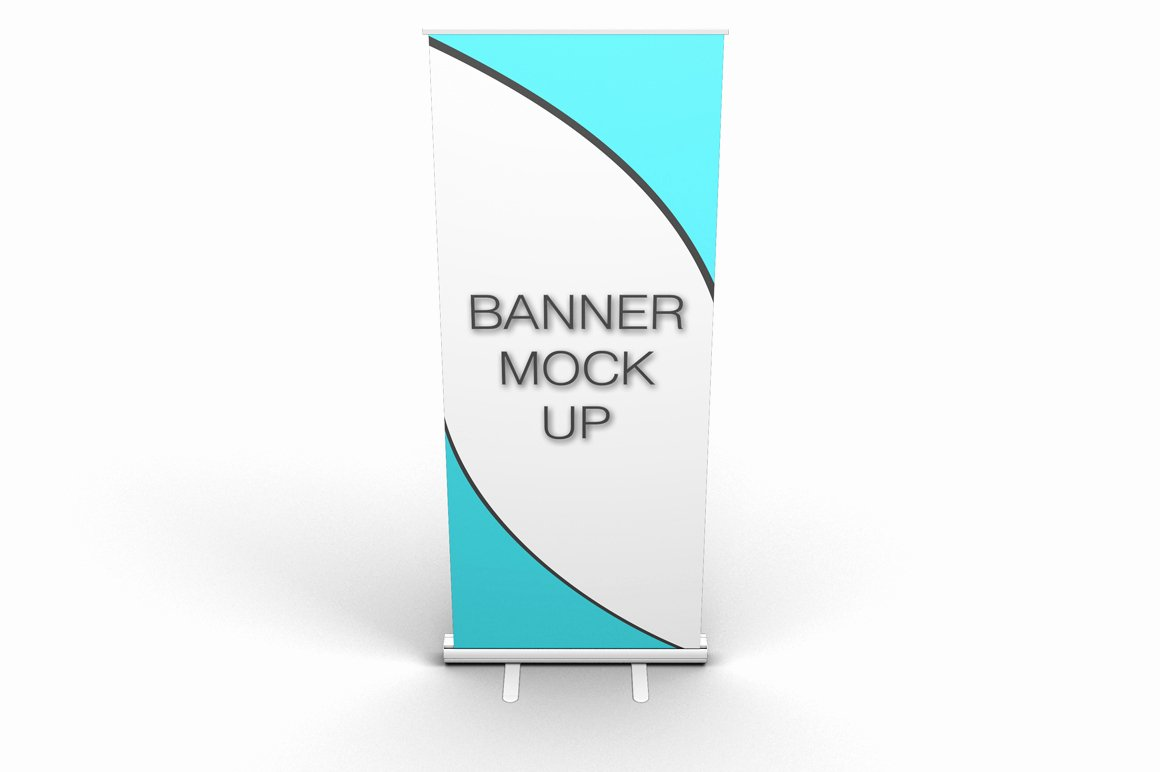 Pull Up Banner Template Inspirational Pull Up Banner Stand Mock Up Product Mockups On Creative