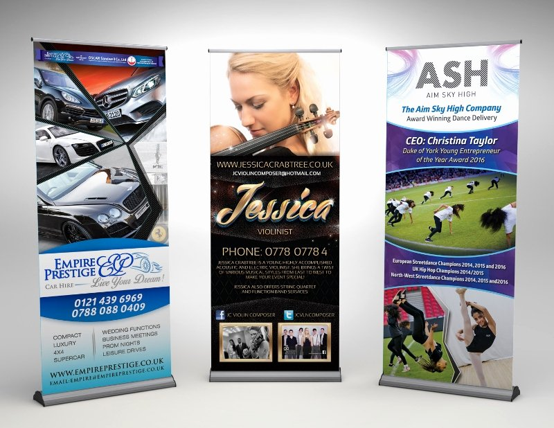 Pull Up Banner Template New 37 Roll Up Banner Designs for Your Advertising Needs