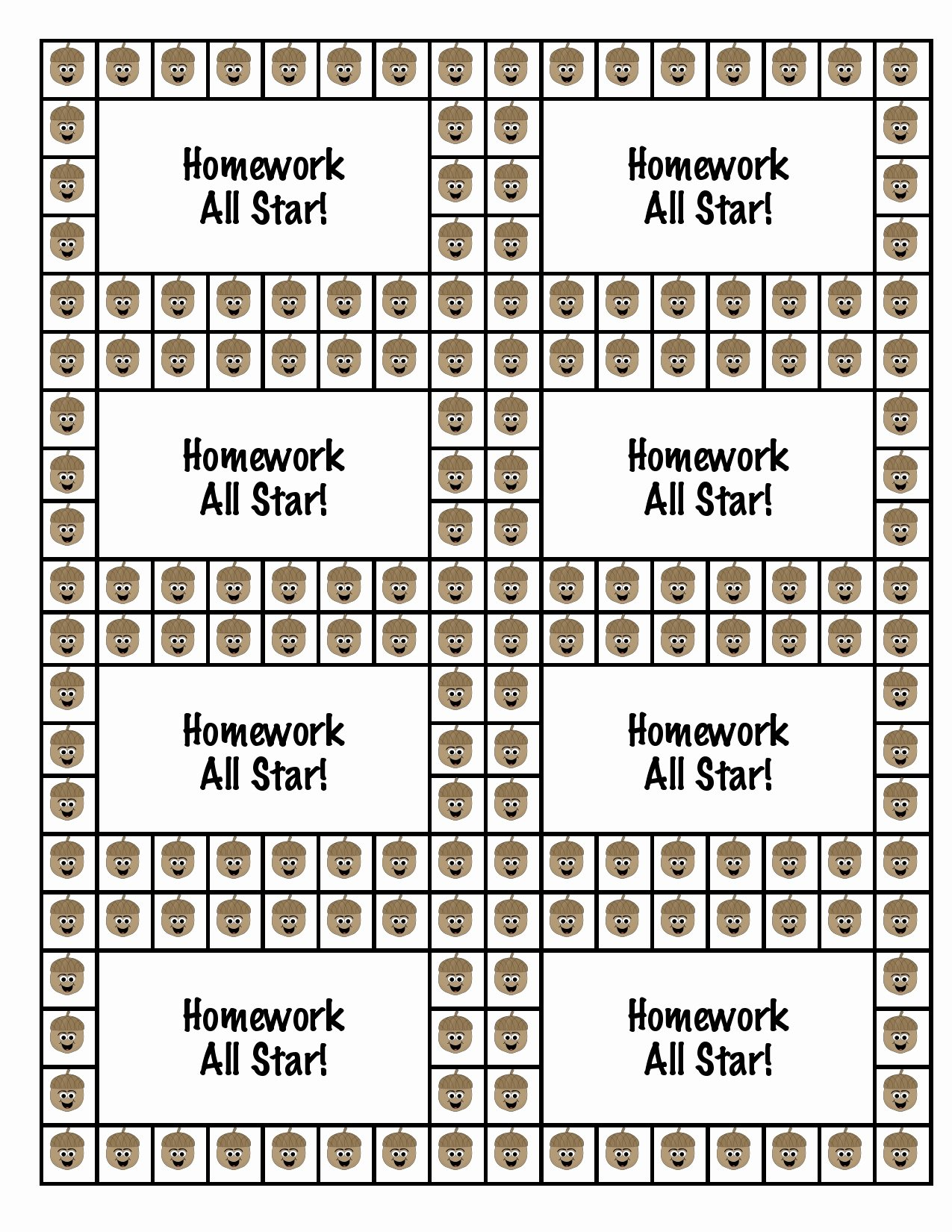Punch Card Template Free Downloads Beautiful 27 Of Homework Punch Cards Printable Template