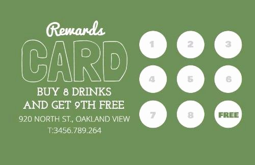 Punch Card Template Free Downloads Fresh Loyalty Cards and Loyalty Card Program Design by Design Wizard