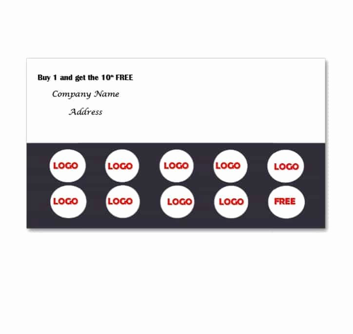 Punch Card Template Free Downloads Fresh Punch Card Templates Free Free Download Freemium Templates