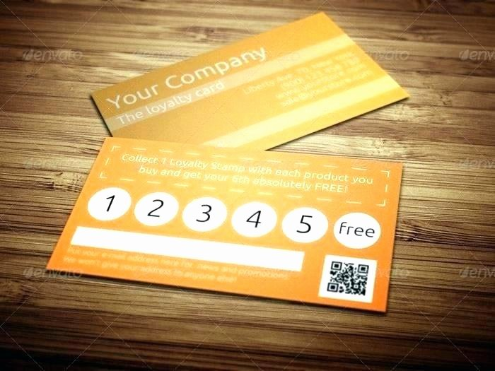 Punch Card Template Free Downloads Inspirational Loyalty Card Template – Chrisconnelly