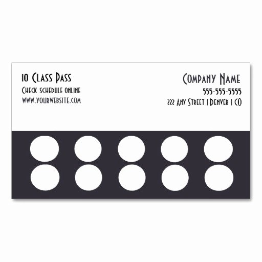 Punch Card Template Free Downloads Lovely Punch Card Template