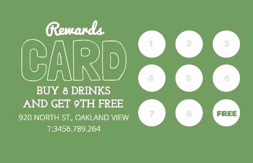 Punch Card Template Free Downloads Lovely Tattoo Business Cards Templates Free Best Customer Loyalty