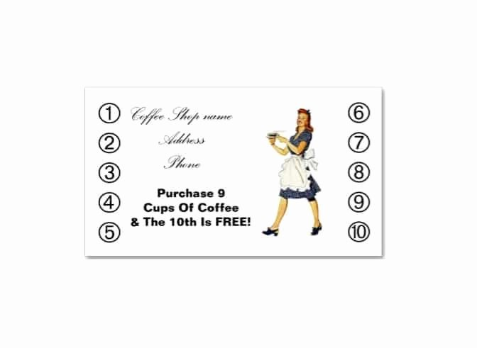 Punch Card Template Free Downloads Luxury 30 Printable Punch Reward Card Templates [ Free]