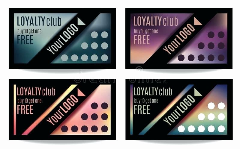 Punch Card Template Free Downloads New Tattoo Business Cards Templates Free Best Customer Loyalty
