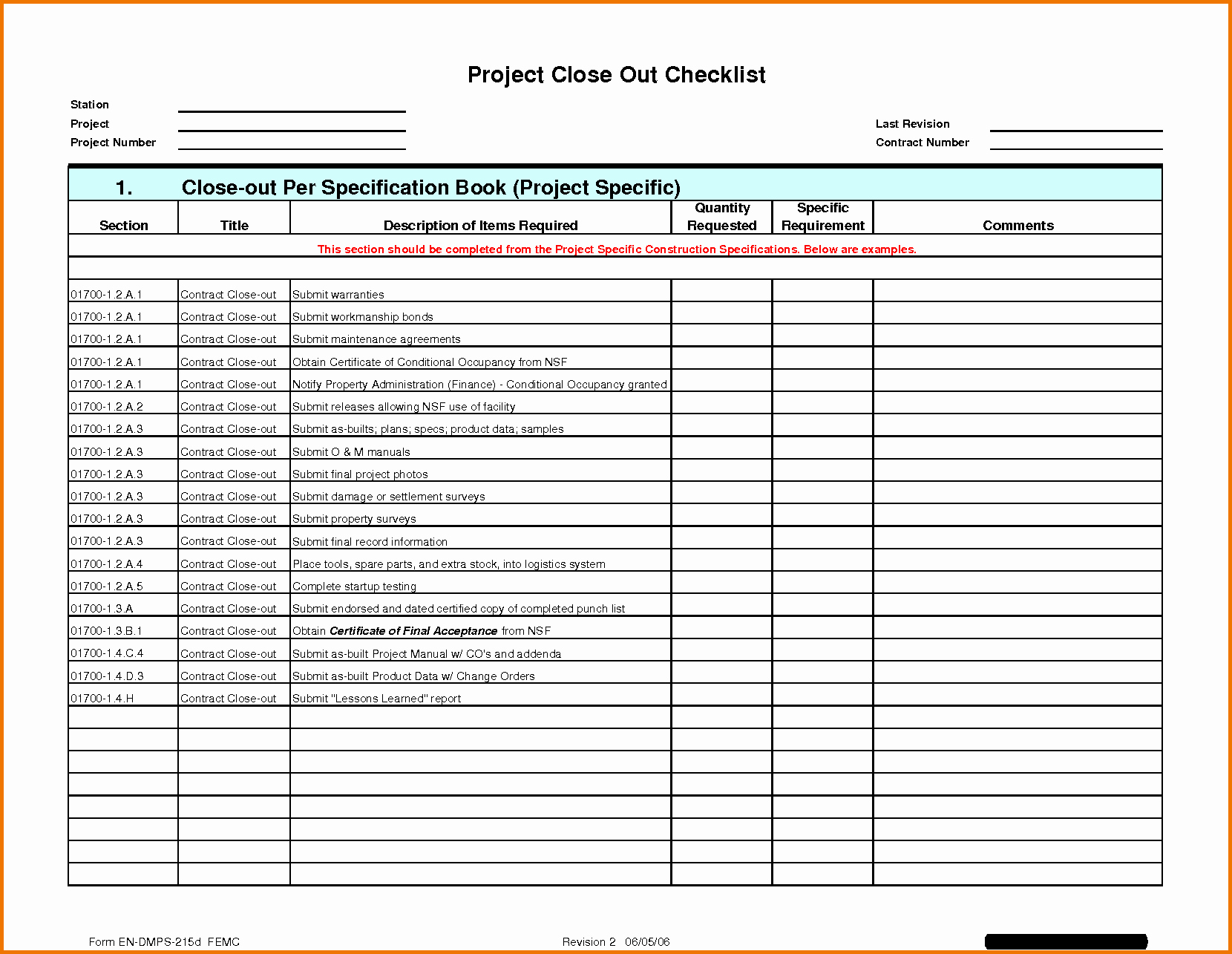 Punch List Template Excel Elegant Construction Project Punch List Template