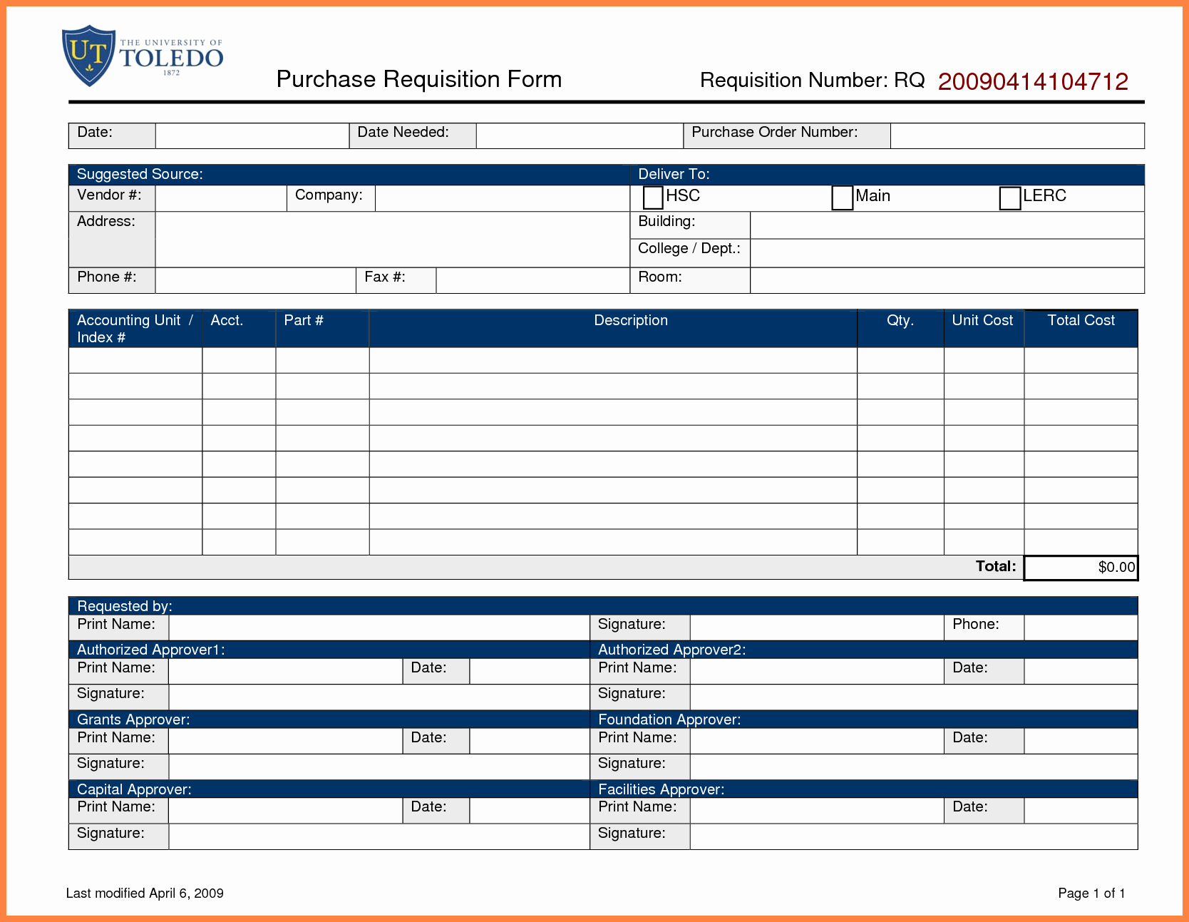 Purchase Requisition form Template Beautiful 5 Purchase order Requisition form Template