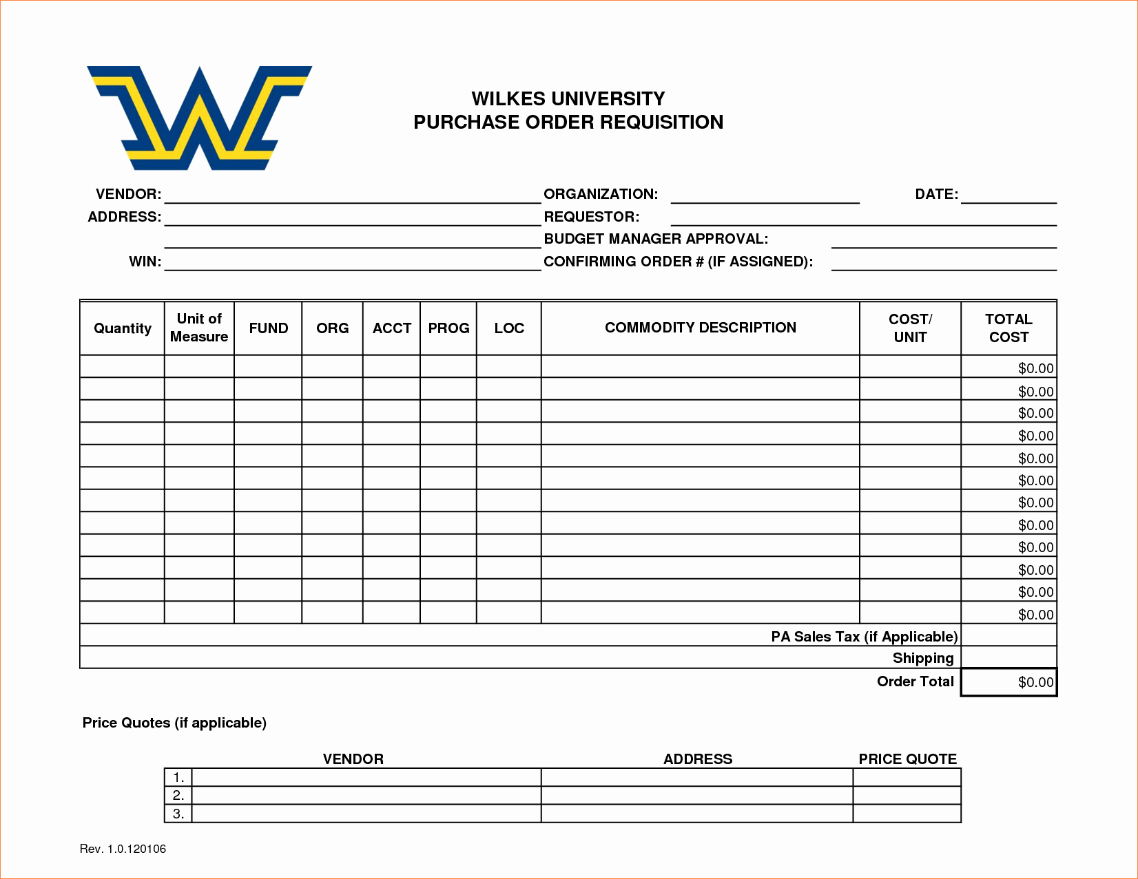 Purchase Requisition form Template Best Of 4 Purchase Requisition Template