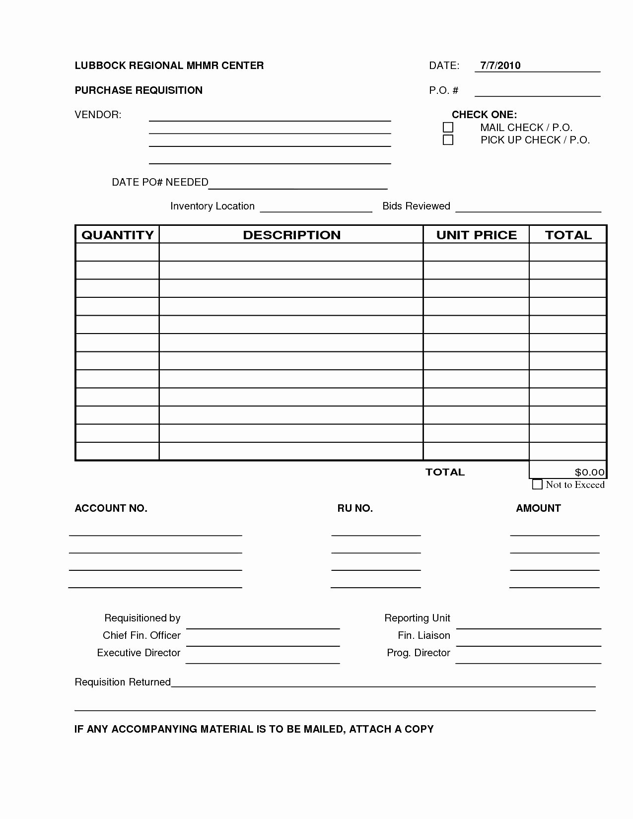 Purchase Requisition form Template Inspirational 6 Best S Of Excel Purchase Requisition form Template