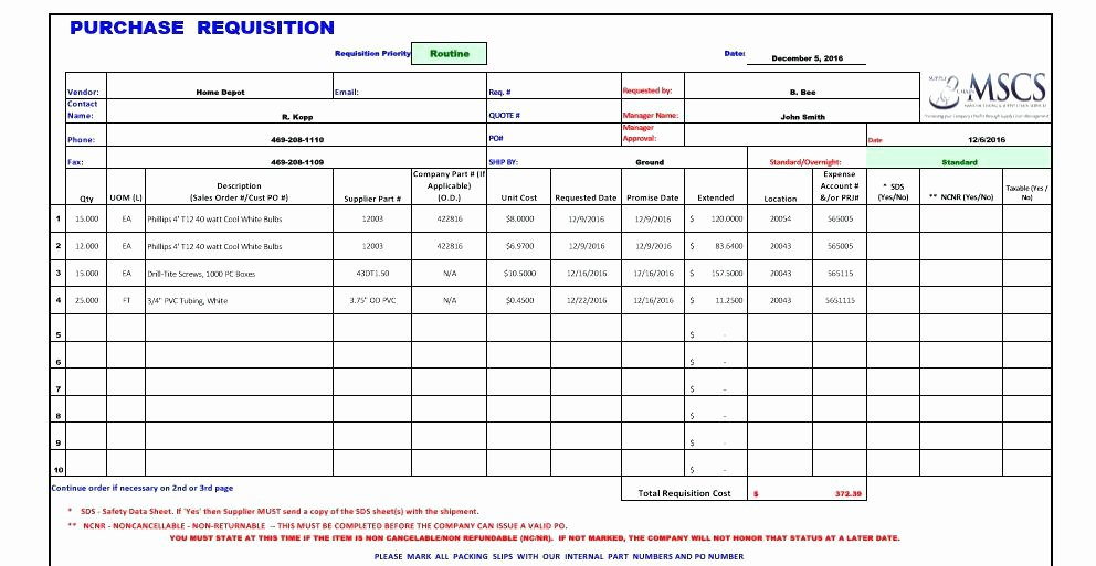 Purchase Requisition form Template Lovely Purchase Requisition form Excel Request Template Practical