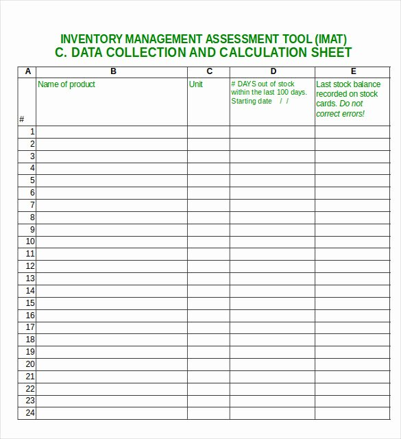 Purchase Sales Inventory Excel Template Lovely 17 Excel Inventory Templates – Free Sample Example