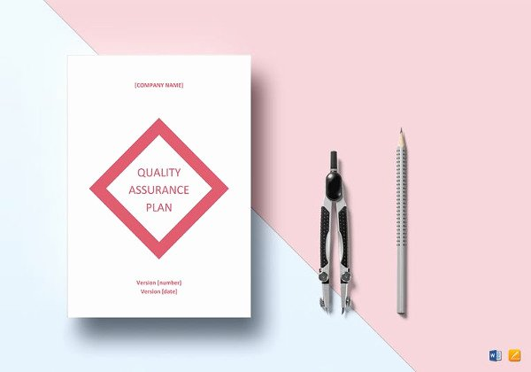 Quality assurance Program Template Unique 7 Quality Control Plan Template Word Pdf