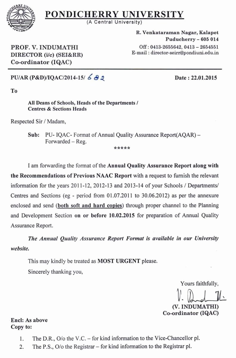 Quality assurance Reports Template Beautiful format Of Annual Quality assurance Report Aqar