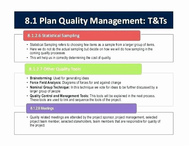 Quality Control Document Template Elegant Quality Control Planning Process Template Management