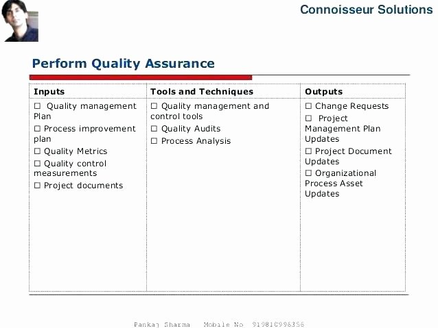 Quality Control Document Template New Quality assurance Template Documents Quality assurance