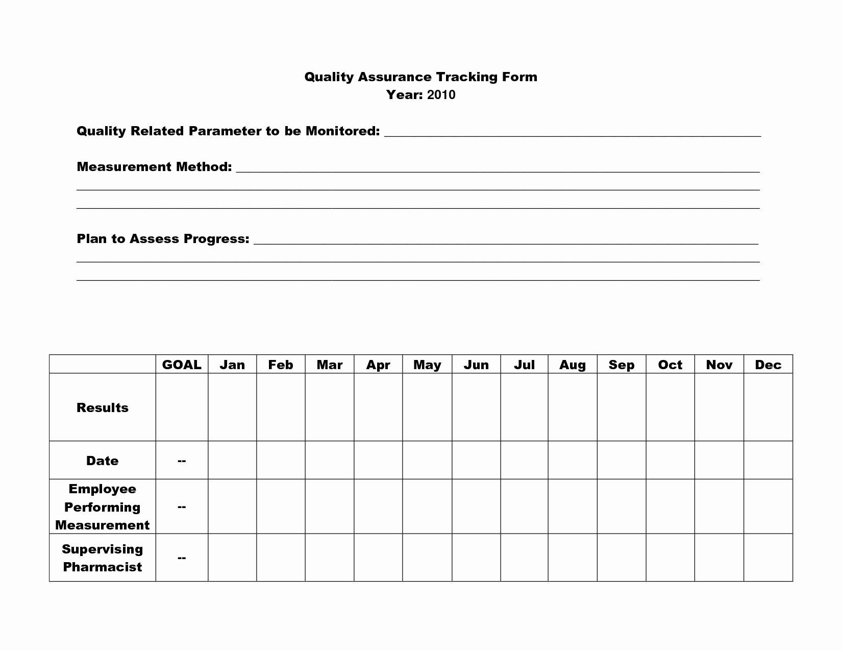Quality Control form Template Fresh 16 Best Of Quality assurance Worksheet Nursing