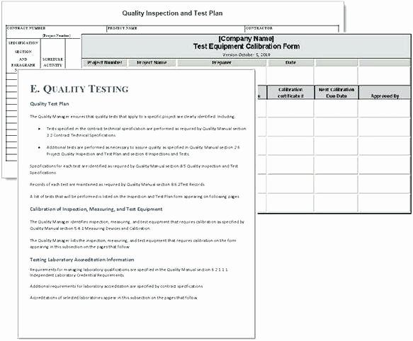 Quality Control form Template Lovely Quality Control forms Templates – Updrill