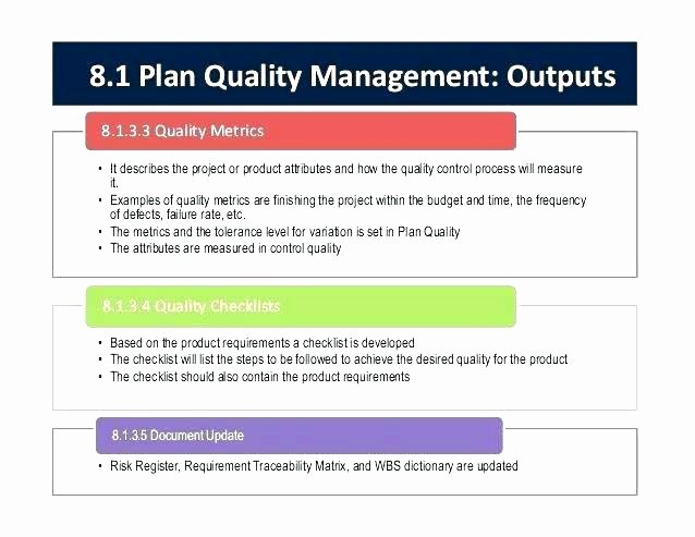 Quality Control Program Template New Welding Quality Control Plan Template Prototype Launch