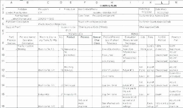 Quality Control Program Template Unique Quality Control Template Checklist form Plan Electrical