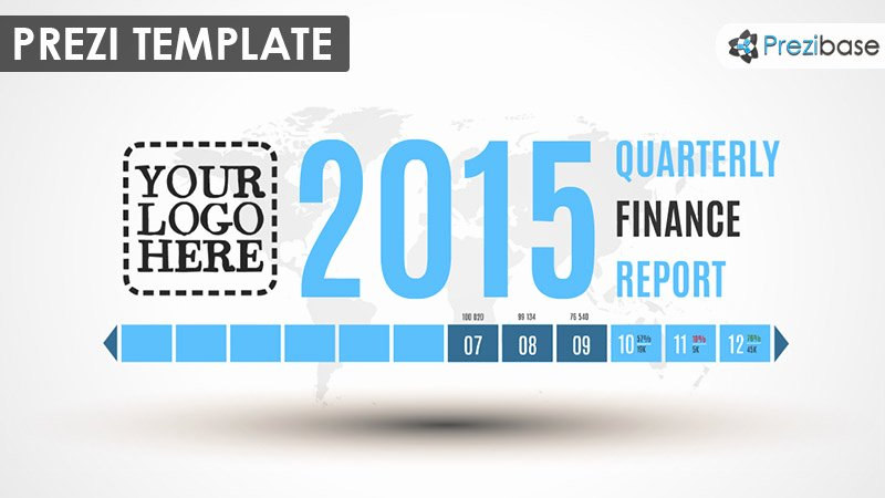 Quarterly Finance Report Template Luxury Timeline Prezi Templates