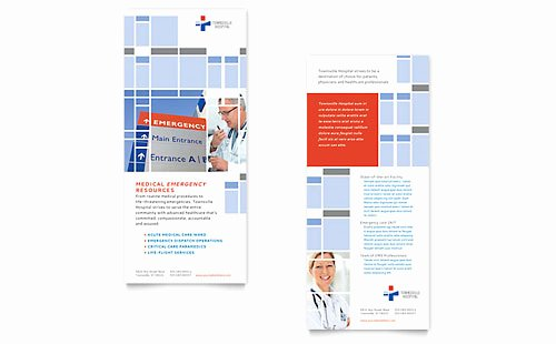 Rack Card Template Indesign Awesome Rack Card Templates Indesign Illustrator Publisher Word