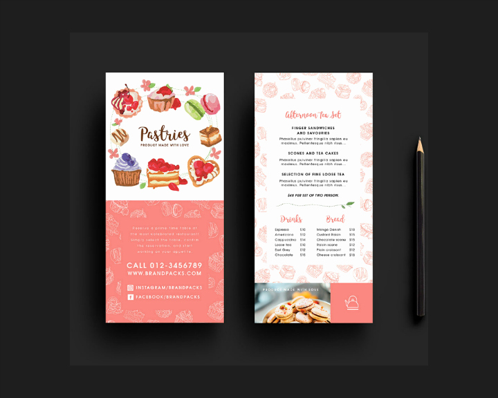 Rack Card Template Indesign Lovely 39 Free Rack Card Templates Psd Ai Word Indesign