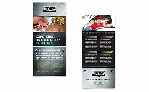 Rack Card Template Indesign Luxury Rack Card Templates Indesign Illustrator Publisher Word