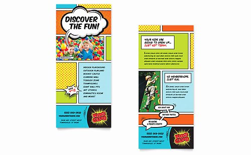 Rack Card Template Word Awesome Free Rack Card Template Word Publisher Microsoft