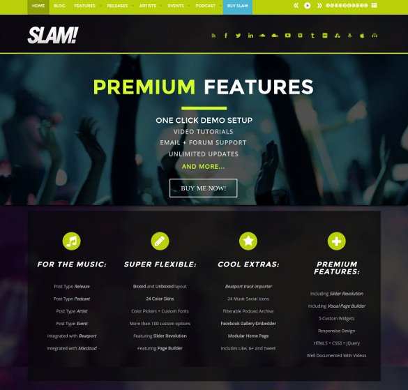 Radio Station Website Template Best Of 29 Radio Station Website themes & Templates