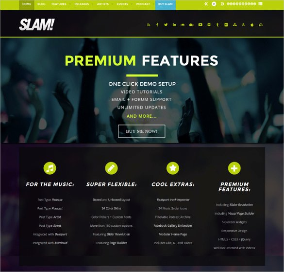 Radio Station Website Template Best Of 30 Radio Station Wordpress themes & Templates