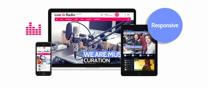 Radio Station Website Template New Live Radio Responsive 5 Website Template tonytemplates