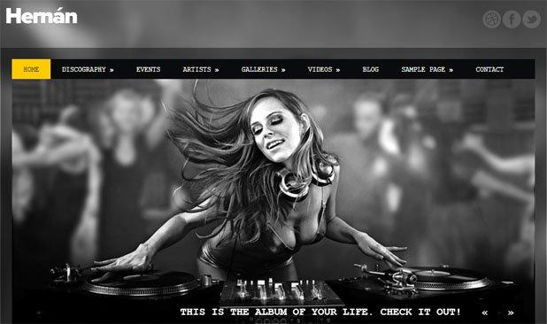 Radio Station Website Template Unique 20 Spectacular Wordpress Templates for Radio Stations