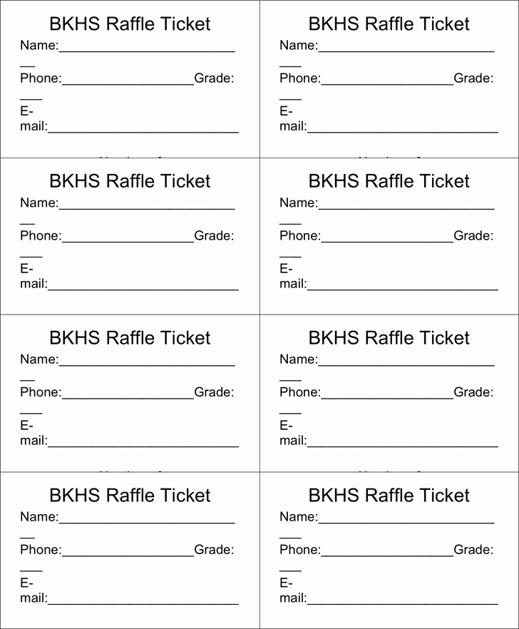 Raffle Entry form Template Awesome Raffle Ticket Templates Word Templates Docs