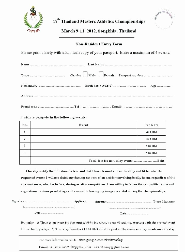 Raffle Entry form Template Lovely Raffle Entry form Template Free Printable Contest Entry