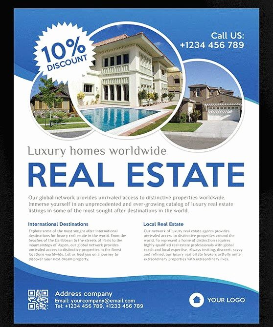 Real Estate Advertisement Template Beautiful 8 Best Free and Premium Real Estate Flyer Templates