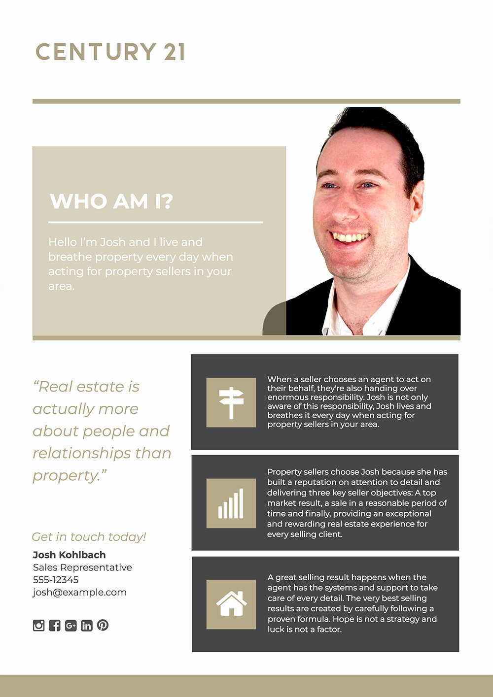 Real Estate Advertisement Template Beautiful Agent Profile How to Create A Real Estate Agent Flyer